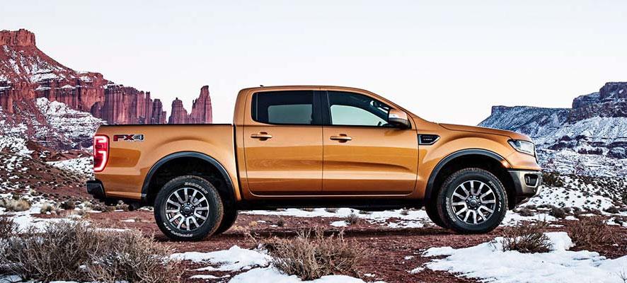 2019 Ford Ranger Naranja Lateral Derecha Nacho Autos