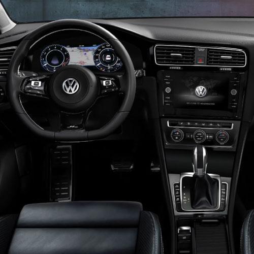 2019 Volkswagen Golf Interior Pantalla Nacho Autos