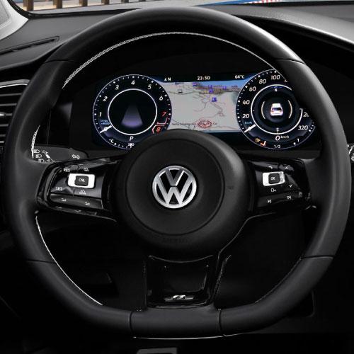 2019 Volkswagen Golf Interior Volante Nacho Autos
