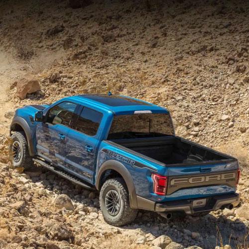 2019 Ford F150 Raptor Azul Trasera Nacho autos