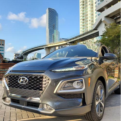 2020 Hyundai Kona Nacho Autos Frontal