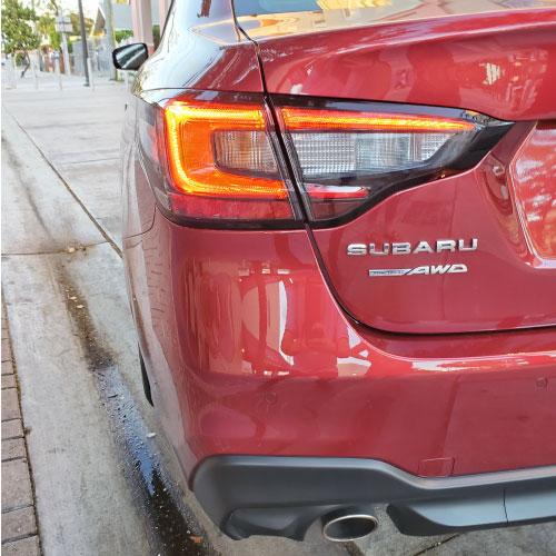 2020 Subaru Legacy back