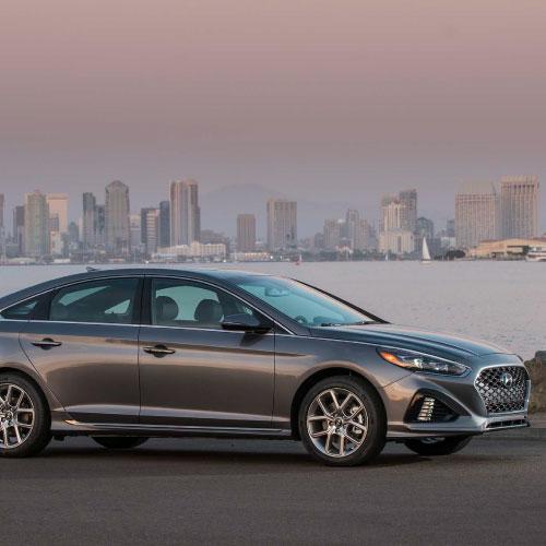 2018 Hyundai Sonata Lateral Derecha Nacho Autos