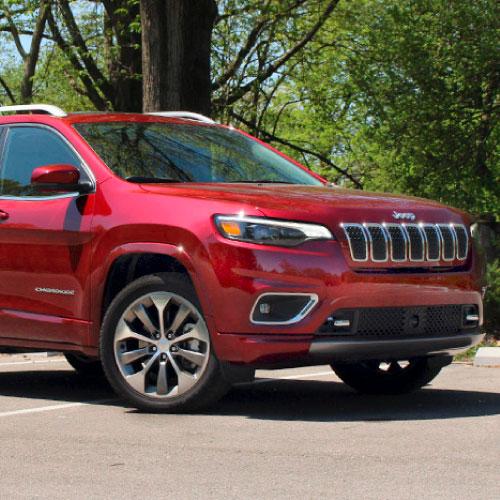 2019 Jeep Cherokee Rojo Lateral Derecho Nacho Autos