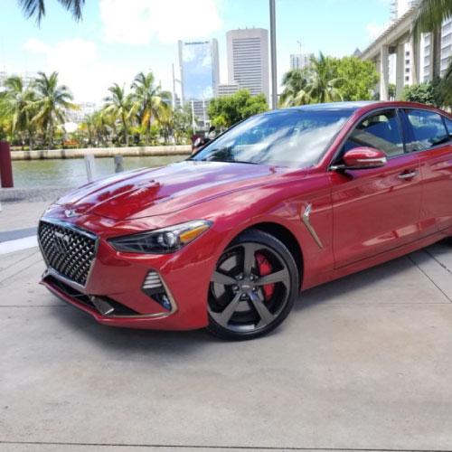 2019 Genesis G70 Frontal Izquierda Nacho Autos