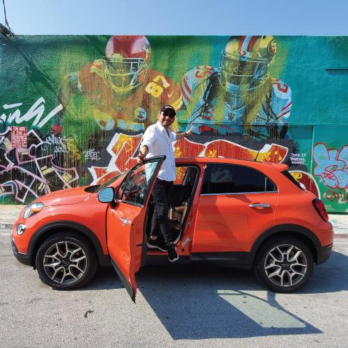 2020 Fiat 500X Lateral Izquierda Nacho Autos
