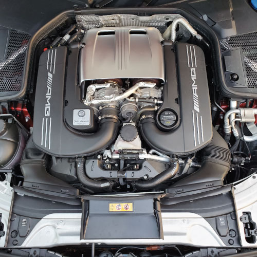2020 Mercedes-AMG C63 S motor Nacho Autos