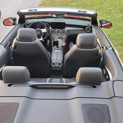 2020 Mercedes-AMG C63 S Convertible Interior Trasera Nacho Autos