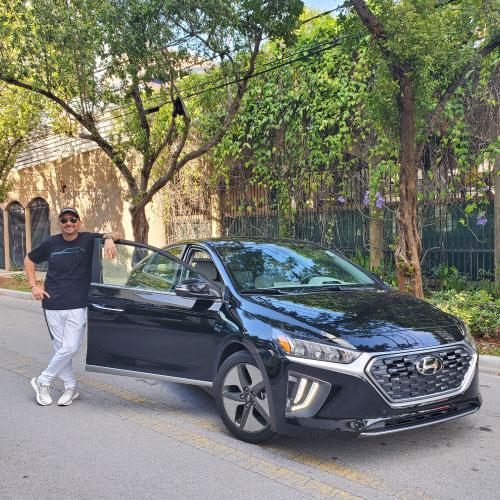 2020 HYUNDAI IONIQ HYBRID FRONTAL CON Nacho Autos