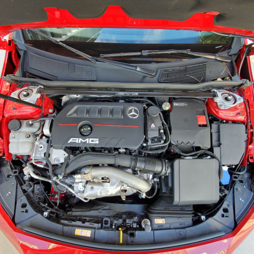 2020 MERCEDES AMG CLA35 motor Nacho Autos