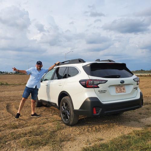 2020 Subaru Outback Blanca Trasera Nacho Autos