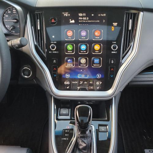 2020 Subaru Outback Pantalla táctil interior Nacho Autos