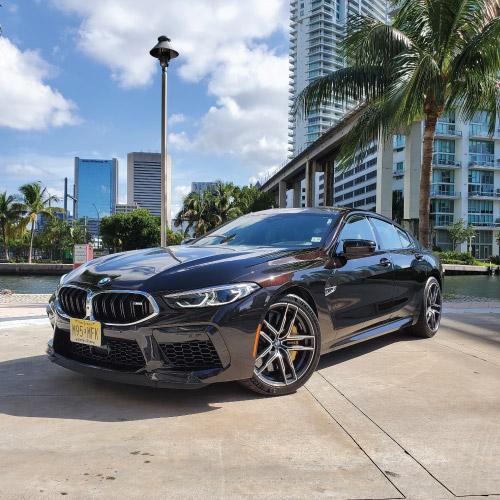 2020 BMW M8 Frente izquierdo Nacho Autos