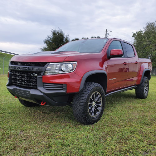 2021 Chevrolet Colorado Frente Ladeado Nacho Autos